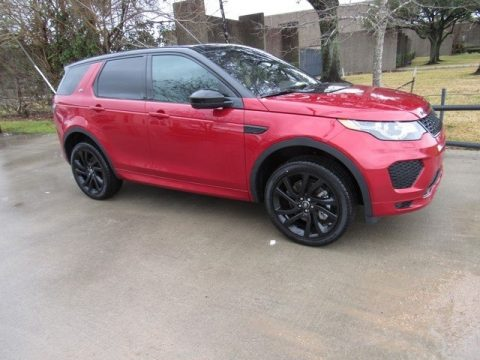 Firenze Red Metallic Land Rover Discovery Sport HSE.  Click to enlarge.
