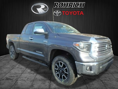 Magnetic Gray Metallic Toyota Tundra Limited Double Cab 4x4.  Click to enlarge.
