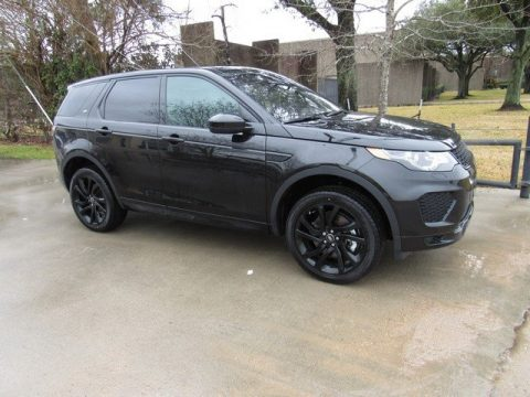 Santorini Black Metallic Land Rover Discovery Sport HSE.  Click to enlarge.
