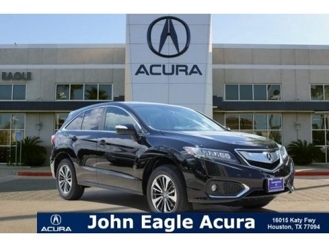 Crystal Black Pearl Acura RDX FWD Advance.  Click to enlarge.