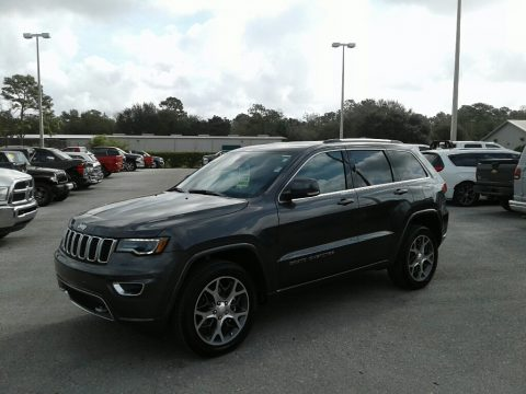 Granite Crystal Metallic Jeep Grand Cherokee Sterling Edition.  Click to enlarge.