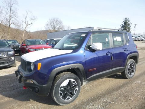 Jetset Blue Jeep Renegade Trailhawk 4x4.  Click to enlarge.