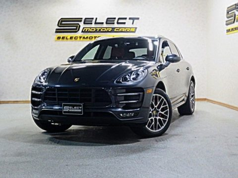 Volcano Grey Metallic Porsche Macan Turbo.  Click to enlarge.