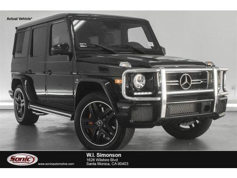 Black Mercedes-Benz G 63 AMG.  Click to enlarge.