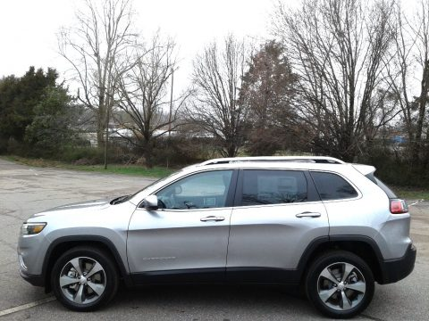 Billet Silver Metallic Jeep Cherokee Limited.  Click to enlarge.