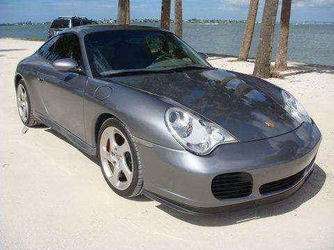 Seal Grey Metallic Porsche 911 Carrera 4S Coupe.  Click to enlarge.