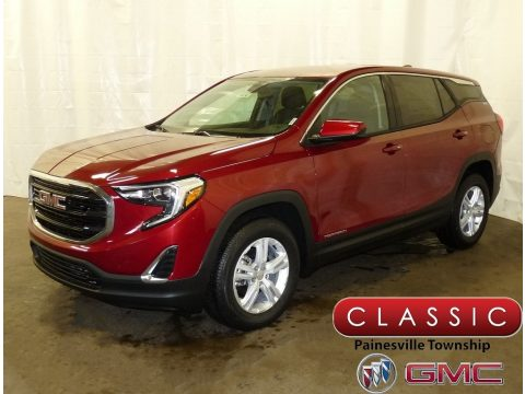 Red Quartz Tintcoat GMC Terrain SLE AWD.  Click to enlarge.