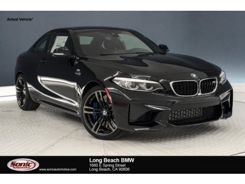 Black Sapphire Metallic BMW M2 Coupe.  Click to enlarge.