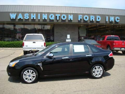 used 2008 ford focus se sedan for sale stock z6005 dealer car ad 12518508. Black Bedroom Furniture Sets. Home Design Ideas