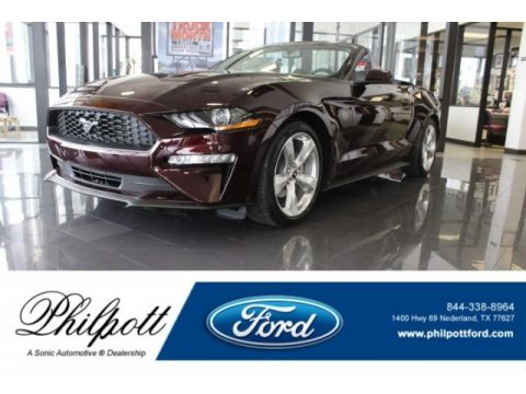 Royal Crimson Ford Mustang EcoBoost Premium Fastback.  Click to enlarge.