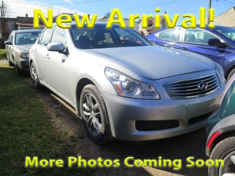 Liquid Platinum Silver Infiniti G 35 x Sedan.  Click to enlarge.