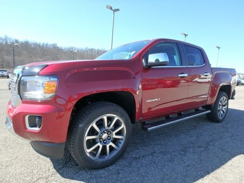Red Quartz Tintcoat GMC Canyon Denali Crew Cab 4x4.  Click to enlarge.