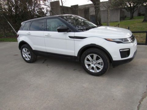 Fuji White Land Rover Range Rover Evoque SE.  Click to enlarge.
