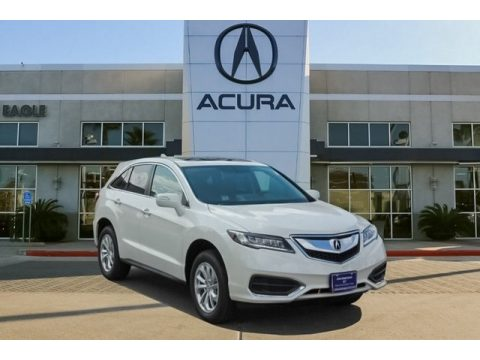 White Diamond Pearl Acura RDX AWD Technology.  Click to enlarge.