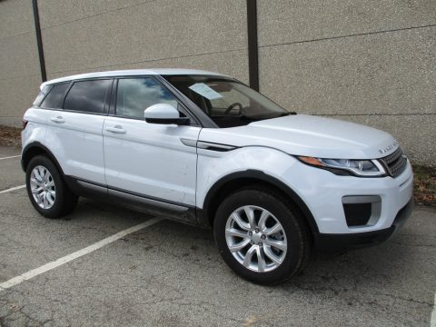 Yulong White Metallic Land Rover Range Rover Evoque SE.  Click to enlarge.