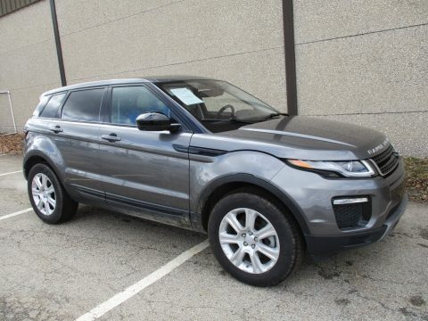 Corris Grey Metallic Land Rover Range Rover Evoque SE Premium.  Click to enlarge.