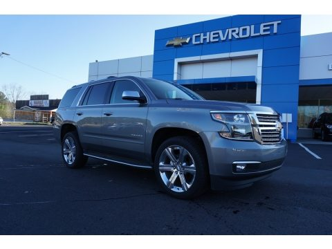 Satin Steel Metallic Chevrolet Tahoe Premier.  Click to enlarge.