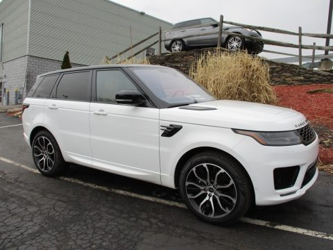 Fuji White Land Rover Range Rover Sport Supercharged.  Click to enlarge.