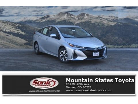 Classic Silver Metallic Toyota Prius Prime Plus.  Click to enlarge.