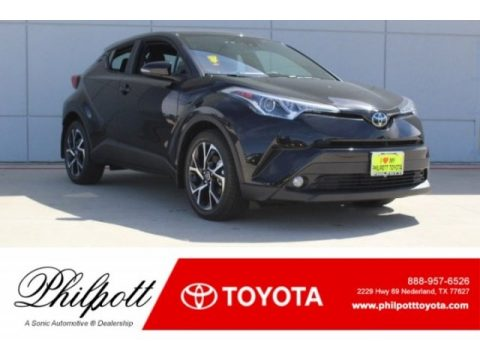 Black Sand Pearl Toyota C-HR XLE.  Click to enlarge.
