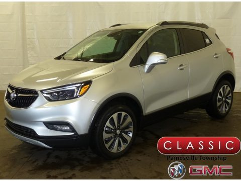 Quicksilver Metallic Buick Encore Essence AWD.  Click to enlarge.