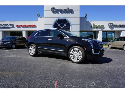 Stellar Black Metallic Cadillac XT5 Premium Luxury.  Click to enlarge.