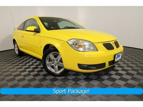 Competition Yellow Pontiac G5 .  Click to enlarge.