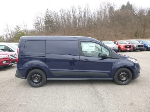 Dark Blue Ford Transit Connect XLT Van.  Click to enlarge.