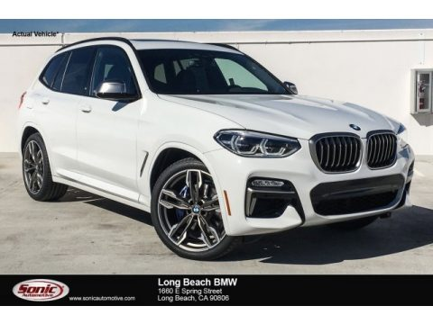 Alpine White BMW X3 M40i.  Click to enlarge.