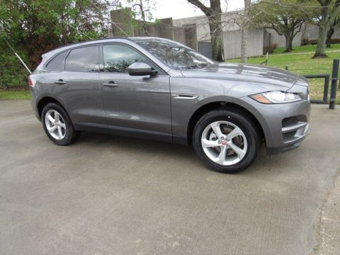 Corris Grey Metallic Jaguar F-PACE 25t AWD Premium.  Click to enlarge.