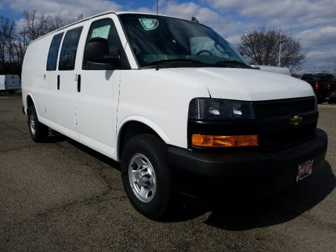 Summit White Chevrolet Express 2500 Cargo WT.  Click to enlarge.