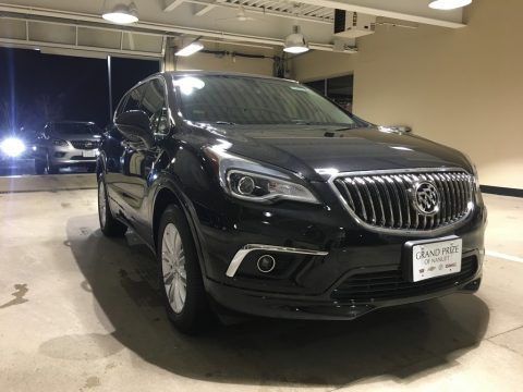 Ebony Twilight Metallic Buick Envision Preferred.  Click to enlarge.