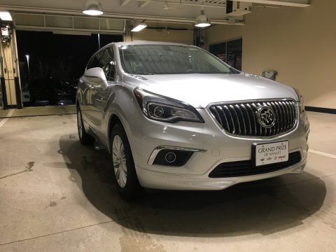 Galaxy Silver Metallic Buick Envision Preferred.  Click to enlarge.