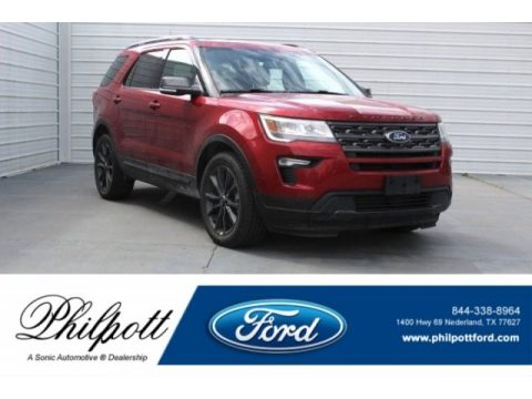 Ruby Red Ford Explorer XLT.  Click to enlarge.