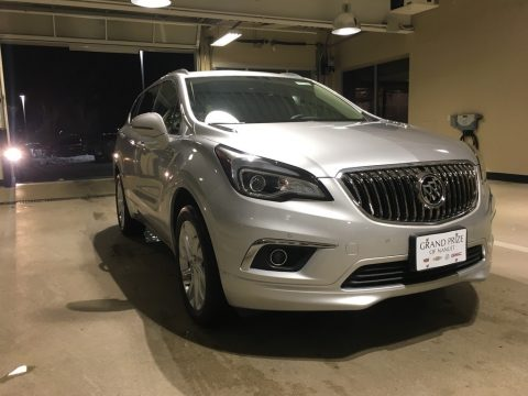 Galaxy Silver Metallic Buick Envision Premium AWD.  Click to enlarge.