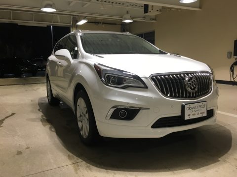 Summit White Buick Envision Premium AWD.  Click to enlarge.