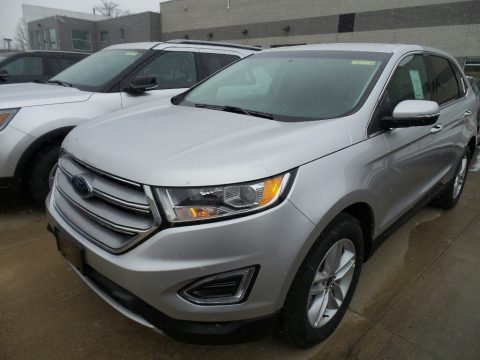 Ingot Silver Ford Edge SEL AWD.  Click to enlarge.