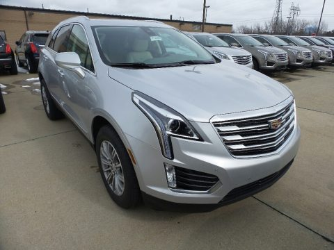 Radiant Silver Metallic Cadillac XT5 Luxury AWD.  Click to enlarge.