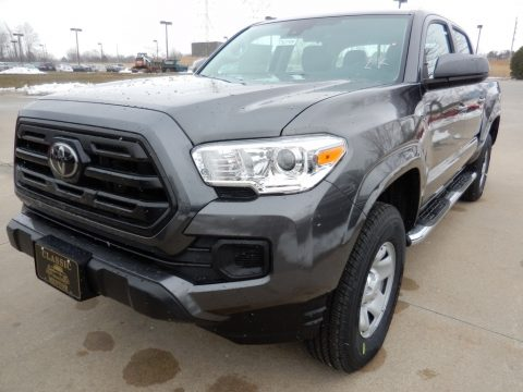 Magnetic Gray Metallic Toyota Tacoma SR Double Cab 4x4.  Click to enlarge.