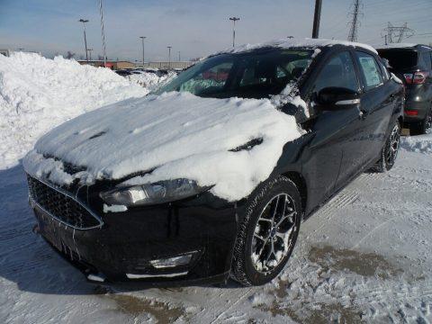 Shadow Black Ford Focus SEL Sedan.  Click to enlarge.