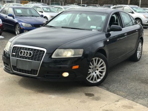 Brilliant Black Audi A6 3.2 quattro Sedan.  Click to enlarge.