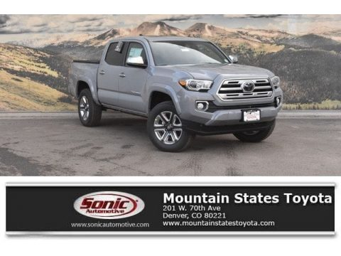 Cement Toyota Tacoma Limited Double Cab 4x4.  Click to enlarge.