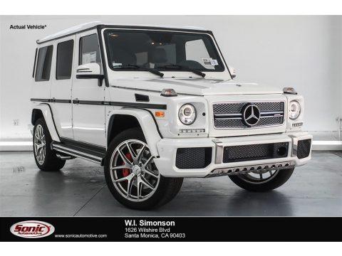 designo Manufaktur Mystic White Mercedes-Benz G 65 AMG.  Click to enlarge.