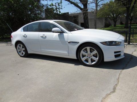 Fuji White Jaguar XE 30t Premium.  Click to enlarge.