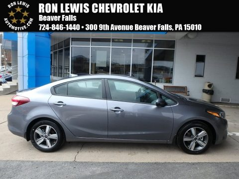 Phantom Gray Kia Forte S.  Click to enlarge.