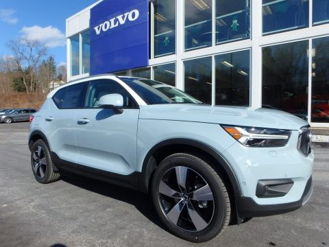 Amazon Blue Volvo XC40 T5 AWD.  Click to enlarge.