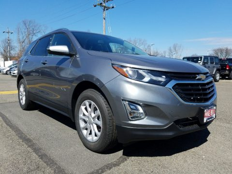 Satin Steel Metallic Chevrolet Equinox LT AWD.  Click to enlarge.