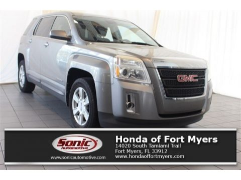 Steel Gray Metallic GMC Terrain SLE.  Click to enlarge.