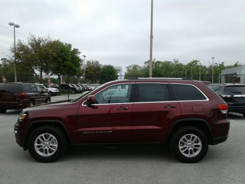 Velvet Red Pearl Jeep Grand Cherokee Laredo.  Click to enlarge.