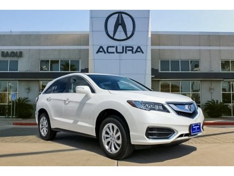 White Diamond Pearl Acura RDX AWD.  Click to enlarge.